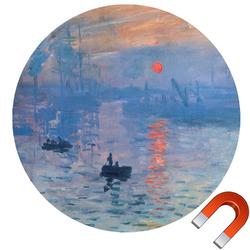 Impression Sunrise by Claude Monet Car Magnet