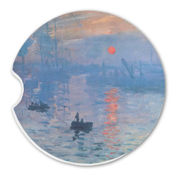 Impression Sunrise Sandstone Car Coasters