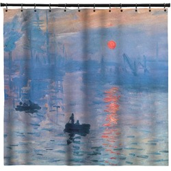 "Impression Sunrise by Claude Monet Shower Curtain - 71""x74"""