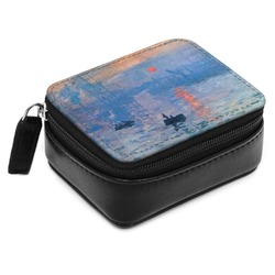 Impression Sunrise Small Leatherette Travel Pill Case