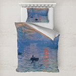 Impression Sunrise by Claude Monet Toddler Bedding