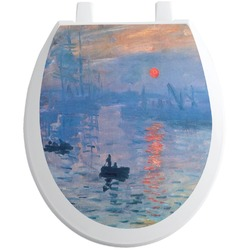 Impression Sunrise Toilet Seat Decal