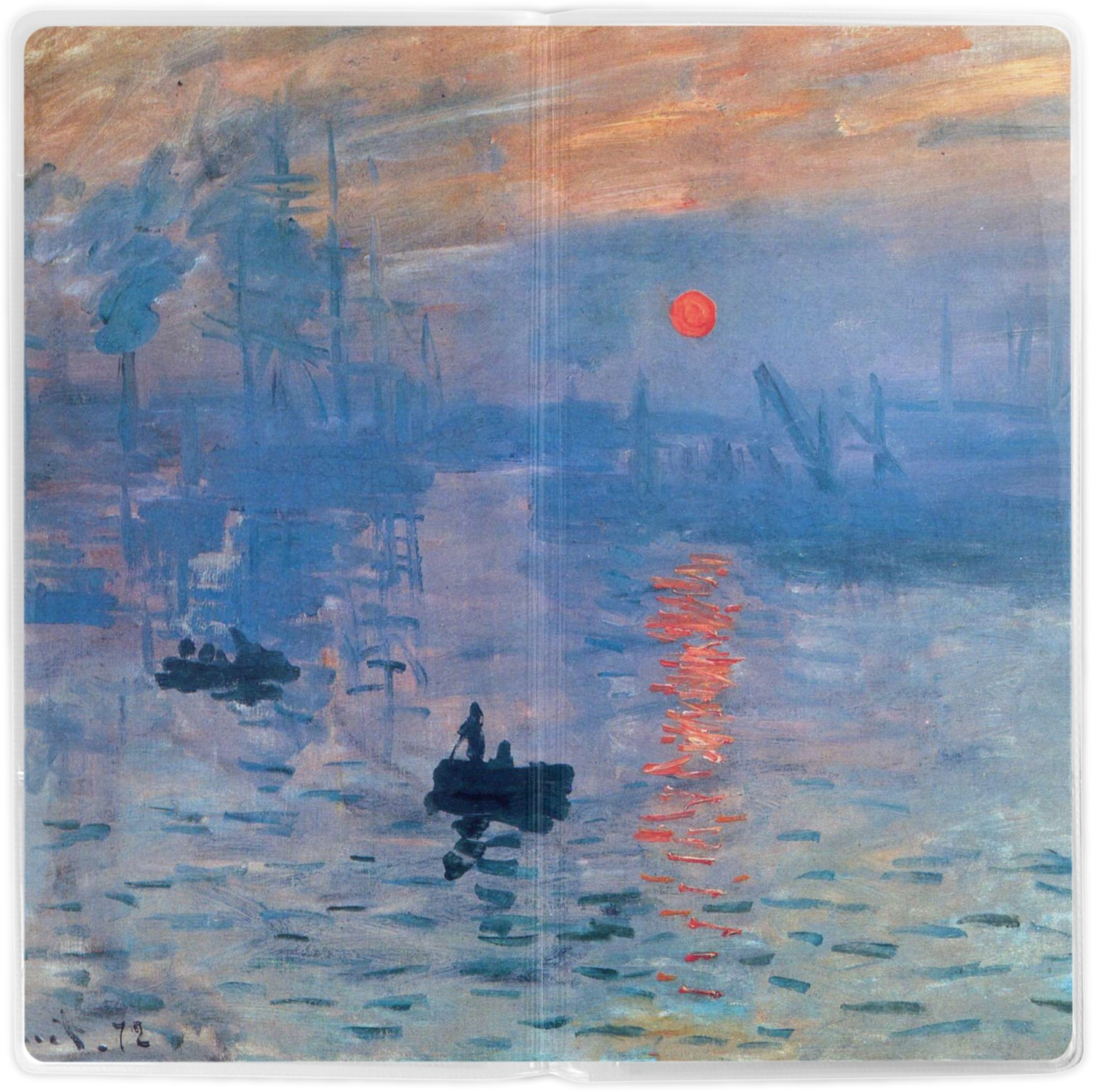 Impression Sunrise by Claude Monet Student Backpack