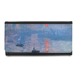 Impression Sunrise by Claude Monet Leatherette Ladies Wallet