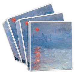 Impression Sunrise by Claude Monet 3-Ring Binder