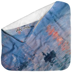 Impression Sunrise by Claude Monet Baby Hooded Towel