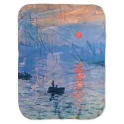 Impression Sunrise by Claude Monet Baby Swaddling Blanket