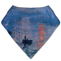 Impression Sunrise by Claude Monet Bandana Bib
