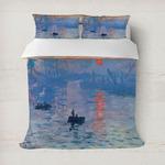 Impression Sunrise by Claude Monet Duvet Cover