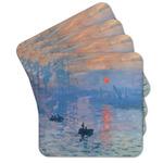 Impression Sunrise by Claude Monet Cork Coaster - Set of 4