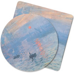 Impression Sunrise by Claude Monet Rubber Backed Coaster