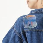Impression Sunrise by Claude Monet Large Custom Shape Patch