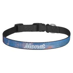 Impression Sunrise by Claude Monet Dog Collar