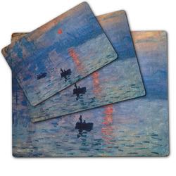 Impression Sunrise by Claude Monet Dog Food Mat