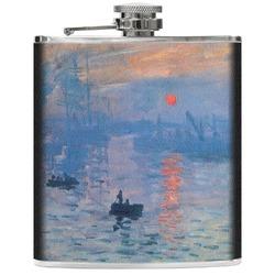 Impression Sunrise Genuine Leather Flask