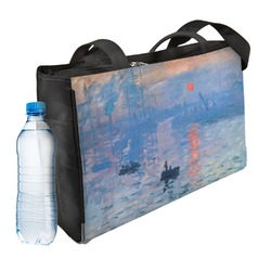 Impression Sunrise by Claude Monet Ladies Workout Bag
