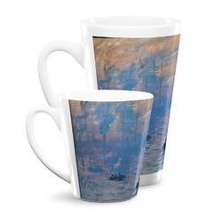 Impression Sunrise by Claude Monet Latte Mug
