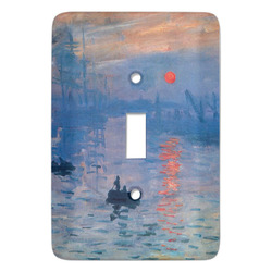 Impression Sunrise by Claude Monet Light Switch Covers