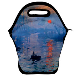 Impression Sunrise by Claude Monet Lunch Bag
