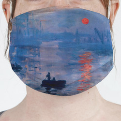 Impression Sunrise by Claude Monet Face Mask Cover