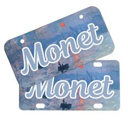 Impression Sunrise by Claude Monet Mini/Bicycle License Plates
