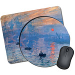 Impression Sunrise by Claude Monet Mouse Pads