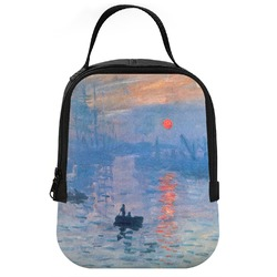 Impression Sunrise by Claude Monet Neoprene Lunch Tote