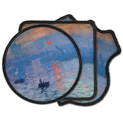 Impression Sunrise by Claude Monet Iron on Patches