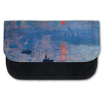 Impression Sunrise by Claude Monet Canvas Pencil Case