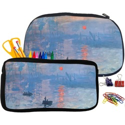 Impression Sunrise by Claude Monet Pencil / School Supplies Bag