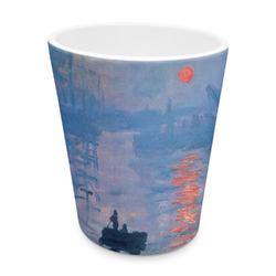 Impression Sunrise by Claude Monet Plastic Tumbler 6oz