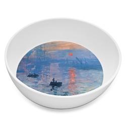 Impression Sunrise by Claude Monet Melamine Bowl 8oz