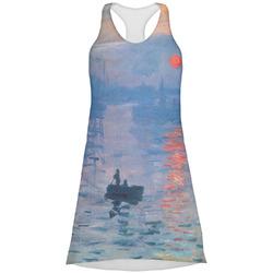 Impression Sunrise by Claude Monet Racerback Dress