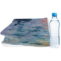 Impression Sunrise by Claude Monet Sports & Fitness Towel