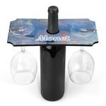 Impression Sunrise by Claude Monet Wine Bottle & Glass Holder