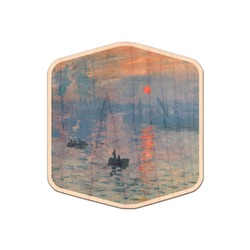 Impression Sunrise by Claude Monet Genuine Wood Sticker