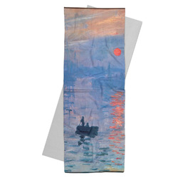 Impression Sunrise by Claude Monet Yoga Mat Towel