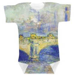 Waterloo Bridge by Claude Monet Baby Bodysuit