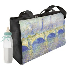Waterloo Bridge by Claude Monet Diaper Bag