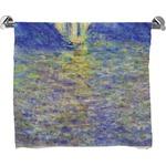 Waterloo Bridge by Claude Monet Bath Towel