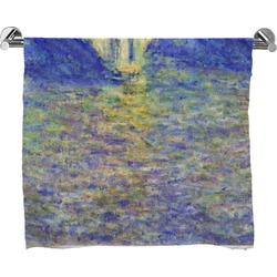 Waterloo Bridge by Claude Monet Full Print Bath Towel