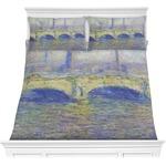 Waterloo Bridge by Claude Monet Comforters