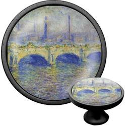 Waterloo Bridge by Claude Monet Cabinet Knob (Black)