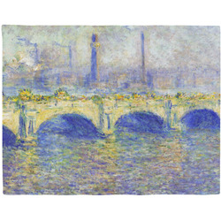 Waterloo Bridge by Claude Monet Placemat (Fabric)