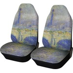 Waterloo Bridge by Claude Monet Car Seat Covers (Set of Two)
