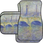 Waterloo Bridge by Claude Monet Car Floor Mats
