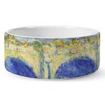 Waterloo Bridge by Claude Monet Ceramic Dog Bowl
