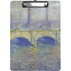 Waterloo Bridge by Claude Monet Clipboard
