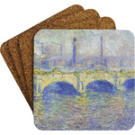 Waterloo Bridge by Claude Monet Coaster Set w/ Stand