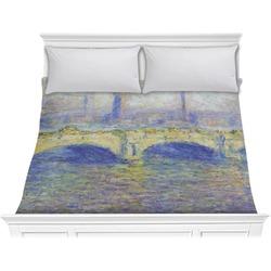 Waterloo Bridge by Claude Monet Comforter - King